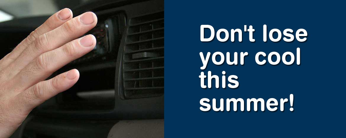 Don't lose your cool this summer!