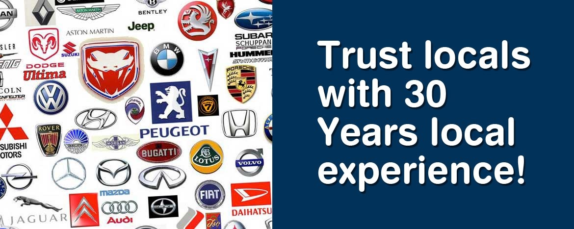 Trust locals with 30 Years local experience!
